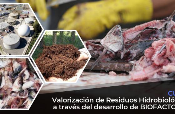 Valorizacion de residuos hidrobiologicos biofactorias